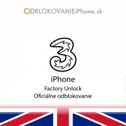 3UK Hutchison iPhone Factory Unlock