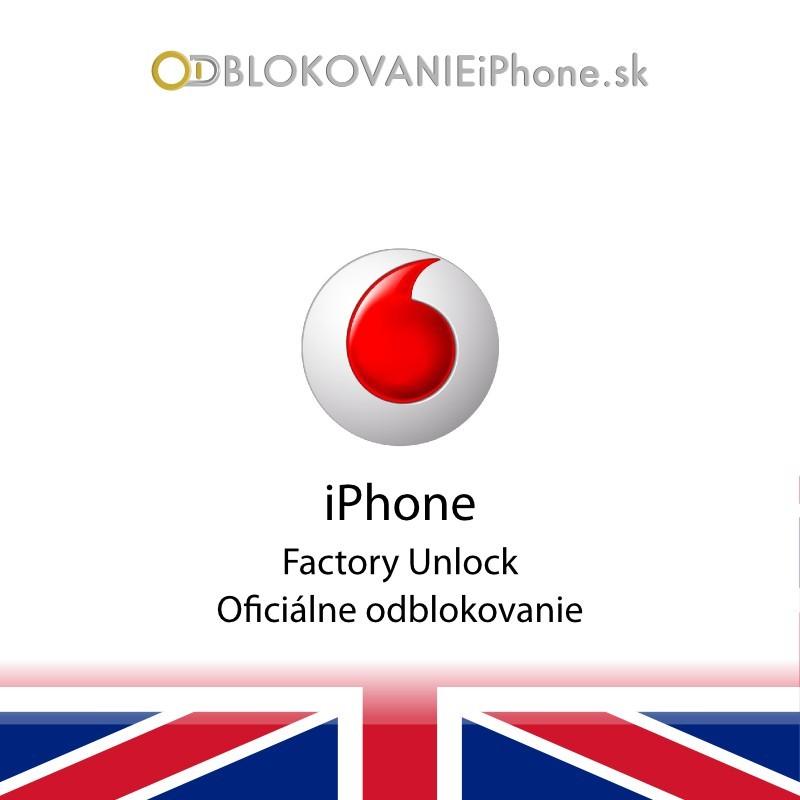 Vodafone iPhone Factory Unlock