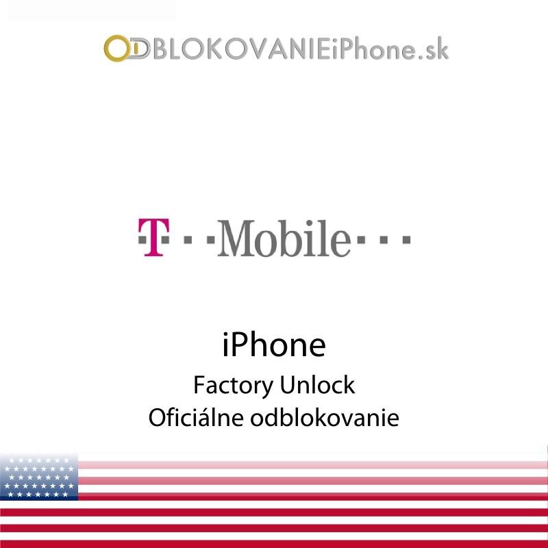 T Mobile USA iPhone odblokovanie