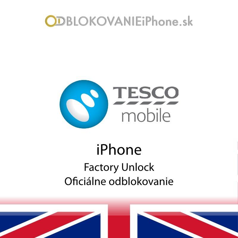 O2UK/Tesco Mobile iPhone odblokovanie