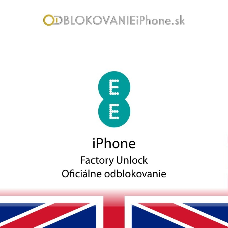 Orange/T Mobile/EE UK iPhone odblokovanie