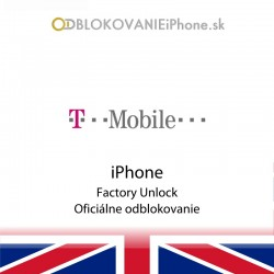 T-Mobile UK iPhone odblokovanie