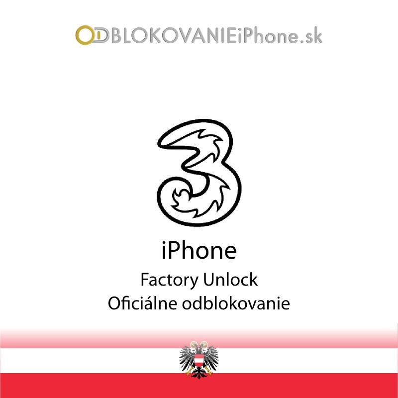 3 AT iPhone odblokovanie