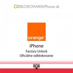 Orange AT iPhone odblokovanie