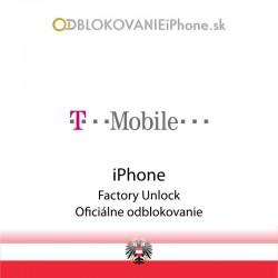 T-Mobile AT Rakúsko iPhone odblokovanie