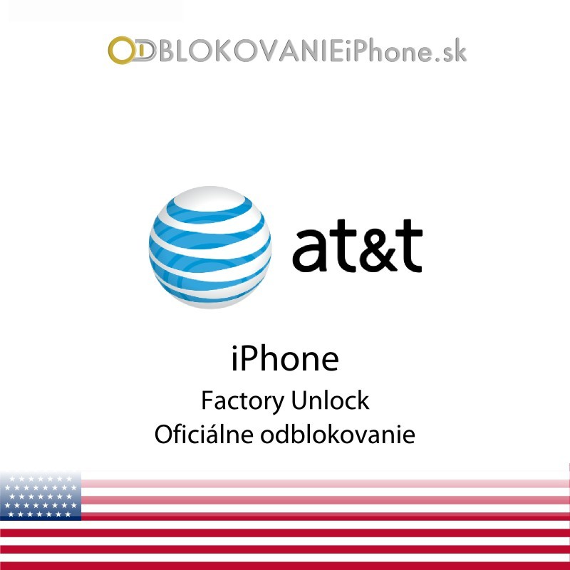 AT&T USA iPhone odblokovanie