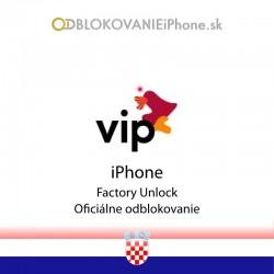 VIP NET HR Chorvátsko iPhone odblokovanie