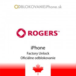 Rogers Kanada iPhone odblokovanie