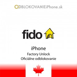Fido Kanada iPhone odblokovanie