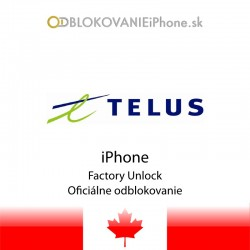Telus Canada  iPhone Factory Unlock