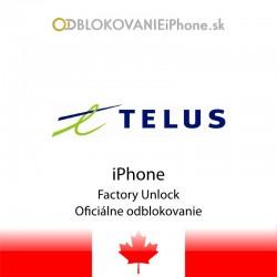 Telus Kanada iPhone odblokovanie