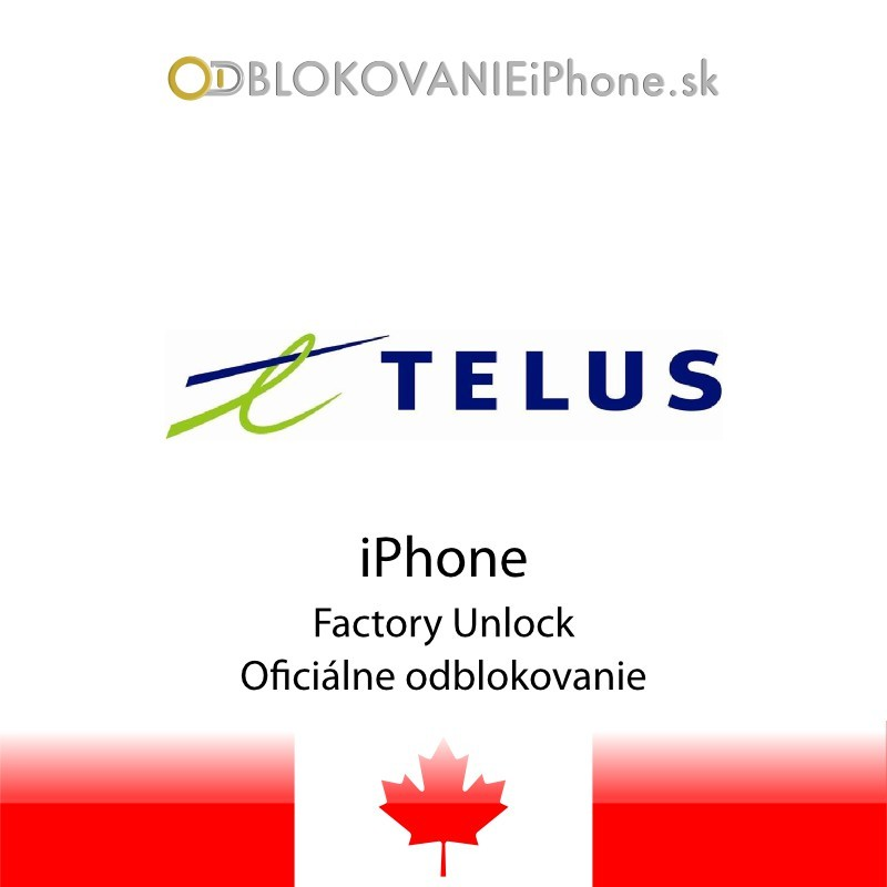 Unlock Iphone  Telus Free