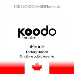 Koodo Kanada iPhone odblokovanie