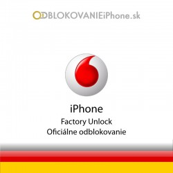 Vodafone DE Nemecko iPhone odblokovanie