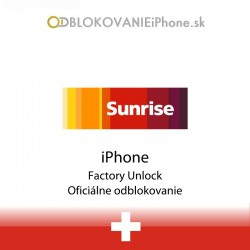 Sunrise Switzerland iPhone Factory Unlock