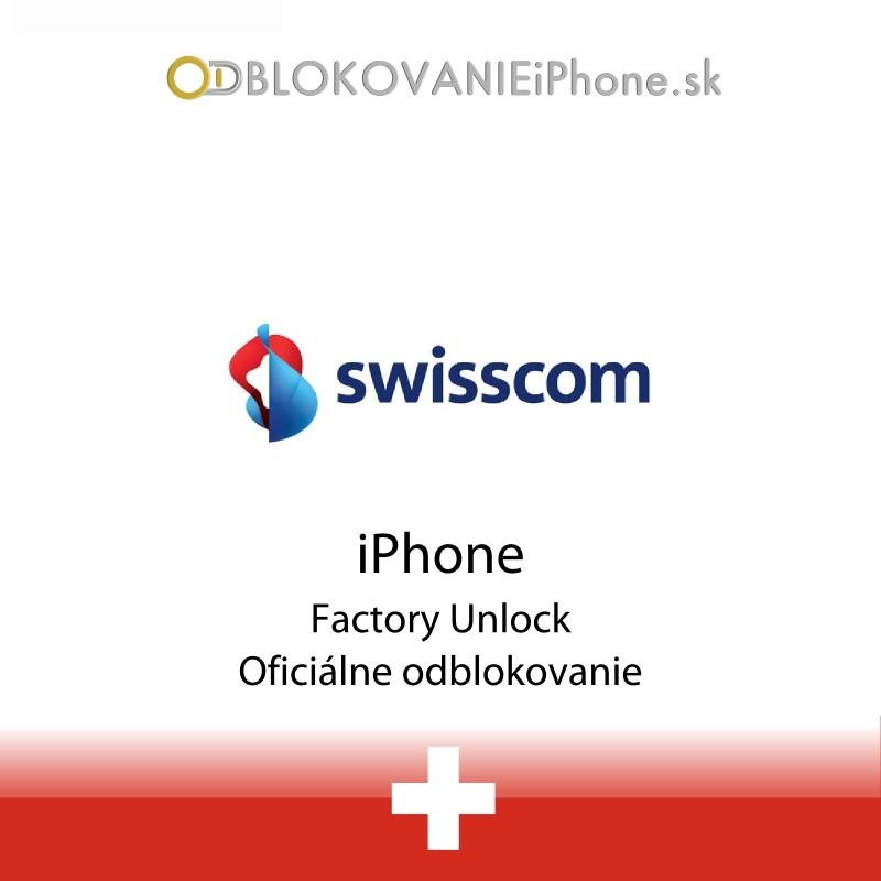Swisscom Švajčiarsko iPhone odblokovanie