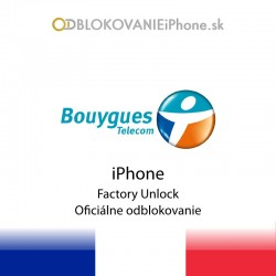 Bouygues France iPhone Factory Unlock
