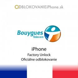 Bouygues Francúzsko iPhone odblokovanie