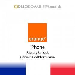 Orange Francúzsko iPhone odblokovanie
