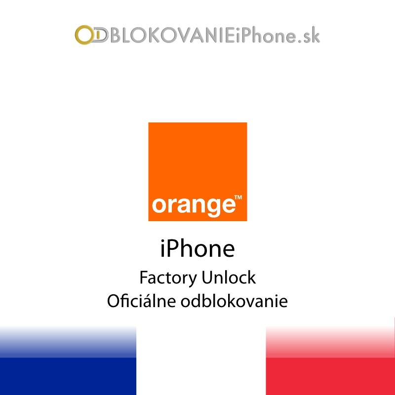 Orange France iPhone Factory Unlock