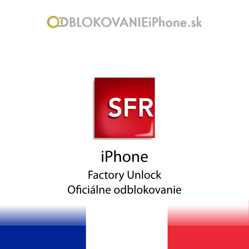 SFR France iPhone Factory Unlock