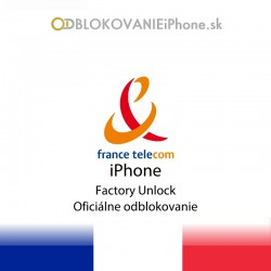 France Telecom iPhone Factory Unlock