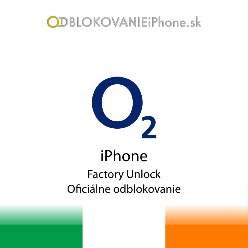 O2 Írsko iPhone odblokovanie