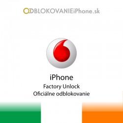 Vodafone Írsko iPhone odblokovanie
