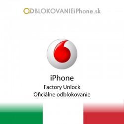 Vodafone Taliansko iPhone odblokovanie