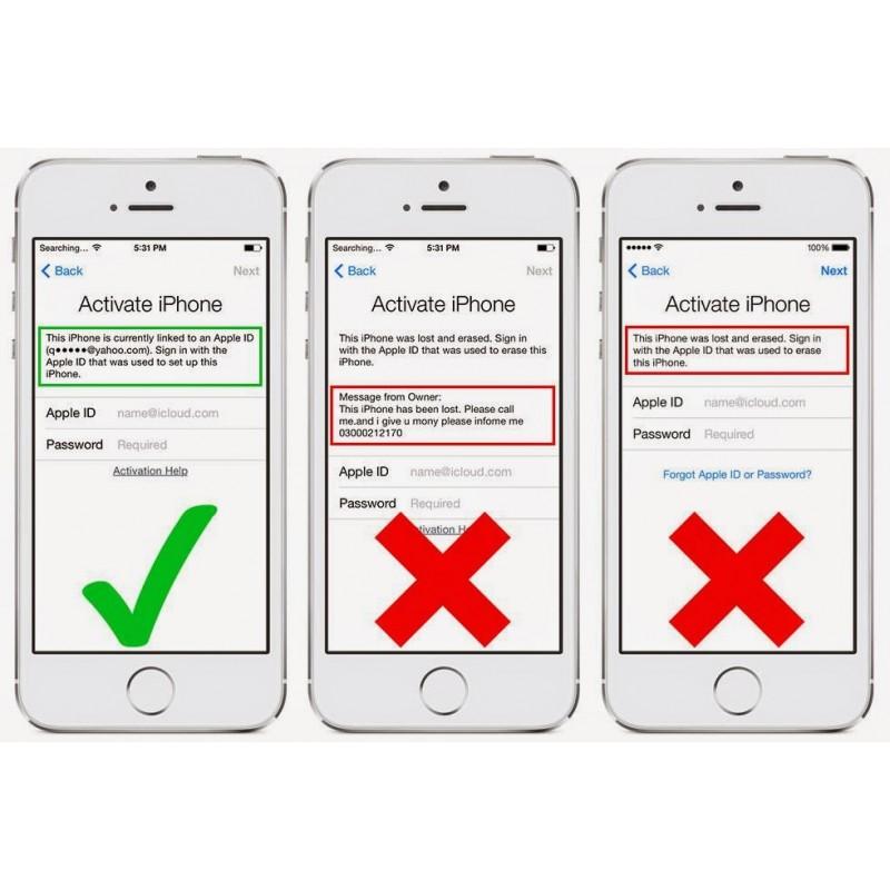 iCloud / Apple ID / Find Me iPhone odblokovanie