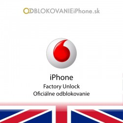 Vodafone UK iPhone...